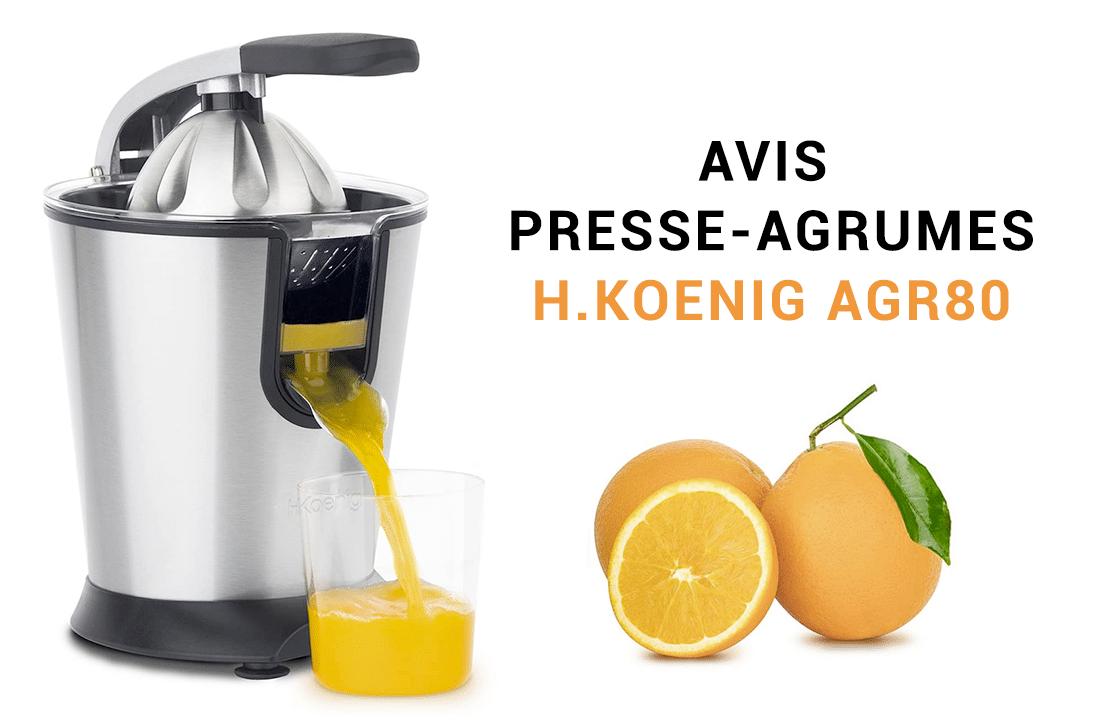 Presse agrume H.Koenig AGR80